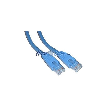 Cable UTP categoría 6 Azul (2m)