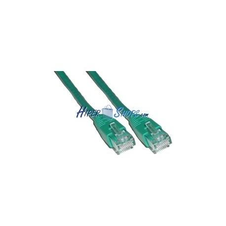 Cable UTP categoría 6 Verde (4m)
