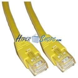 Cable UTP categoría 6 Amarillo (4m)