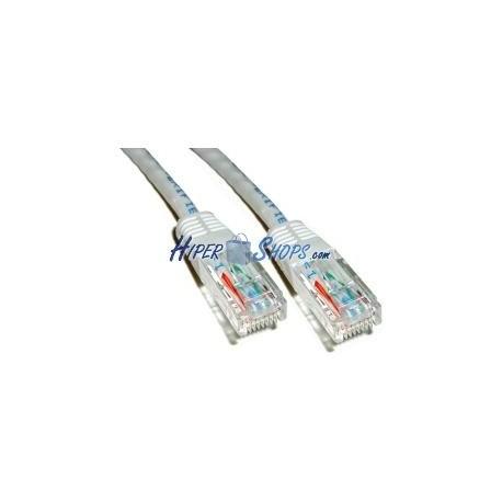 Cable UTP categoría 6 Gris (25cm)