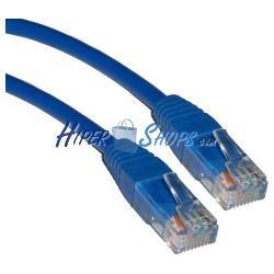Cable UTP categoría 5e Azul (1m)