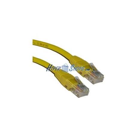 Cable UTP categoría 5e Amarillo (5m)