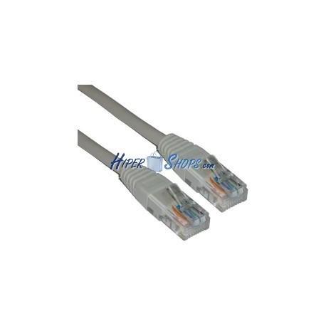 Cable UTP categoría 5e Gris (50cm)