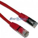 Cable FTP categoría 5e Rojo (4m)