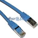 Cable FTP categoría 5e Azul (25cm)