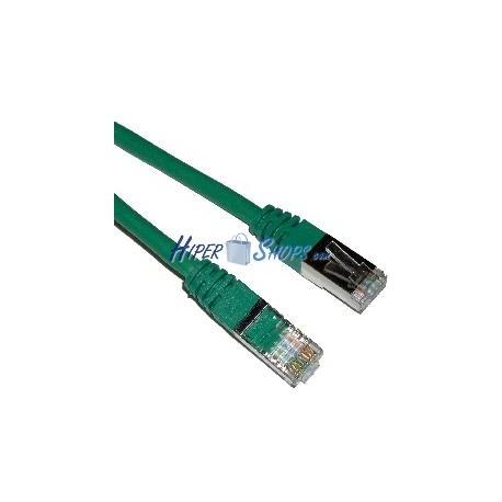 Cable FTP categoría 5e Verde (50cm)