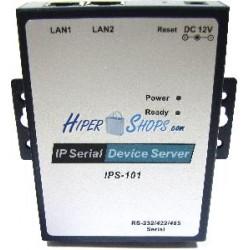 Servidor IP serie RS232 RS422 RS485 de 1 puerto