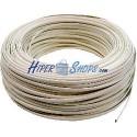 Bobina Cable Telefónico Flexible 4-Hilos Marfil (100m)