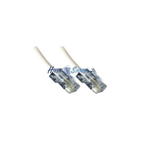 Cable Telefónico 4-Hilos RJ11 LSHF (20m)