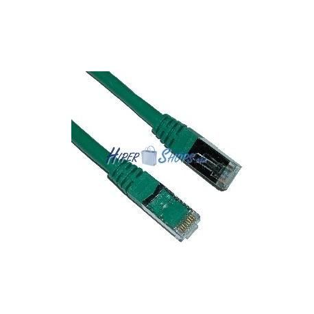 Cable FTP categoría 6 Verde (25cm)