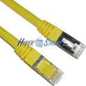 Cable FTP categoría 6 Amarillo (2m)