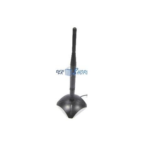 Antena Omni-Direccional 5dBi/2.4GHz (Magnética)