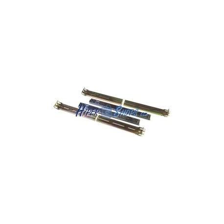 Guías laterales telescópicas para caja rack IPC de fondo 300mm