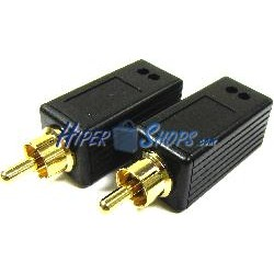 Extensor de audio digital UTP Cat.5 emisor y receptor AE01D