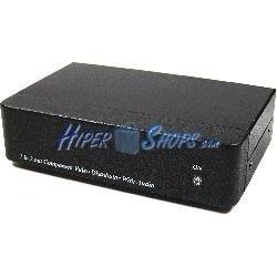 Multiplicador de audio y vídeo YPbPr de 2 puertos YD02A