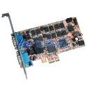 Tarjeta PCI-express PCIe a RS422 RS485 con protección eléctrica y opto-aislada