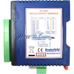 Módulo RS485 de 4 salidas de relés (BrainChild IO-4RO)