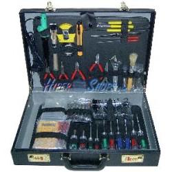 Maletín de herramientas varias de 46 piezas