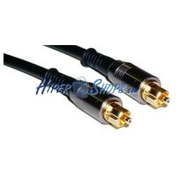 Cable Toslink de audio digital óptico de 1m