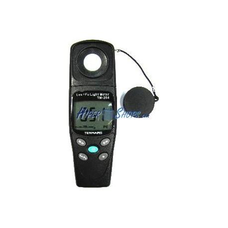 Luxómetro digital compacto modelo TM-204