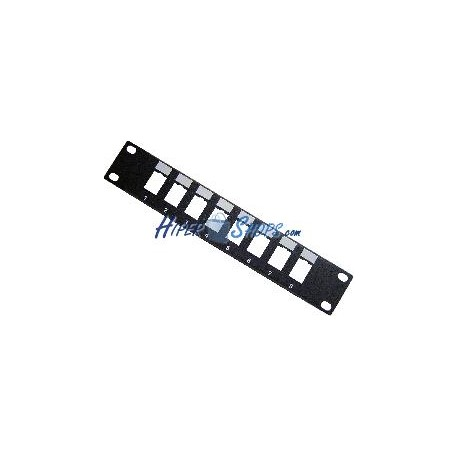 "RackMatic TENRack Patch-Panel 10"" 8-Port 1U (110/Krone)"