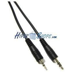 Cable de audio stereo de 2,5 mm macho a 3,5 mm macho de 1,8 m
