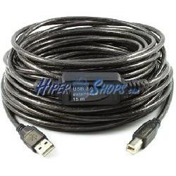 USB 2.0 Extension Cable AM a 1 BM de 15m
