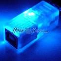 Adaptador USB con LED AZUL (AM/BH)