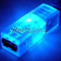 Adaptador USB con LED AZUL (AH/BH)