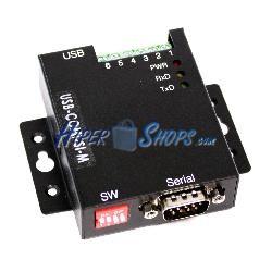 Adaptador USB a RS-422 RS485 VSCOM PRO 1-Port DINRail USBCOMiSIM
