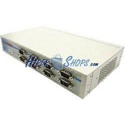 Adaptador USB a RS232/422/485 VSCOM (8 Port DINRail)