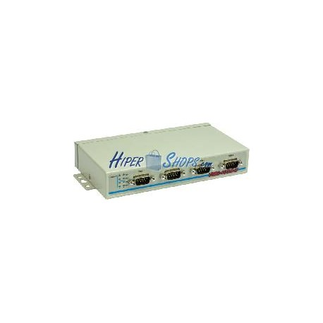 Adaptador USB a RS-232 VSCOM (4-Port DINRail)