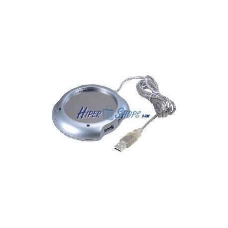 Base de Calor USB (con Hub USB 4-Port)