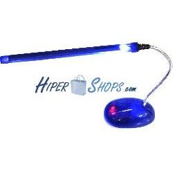 Lámpara USB de cátodo frio con brazo flexible y peana
