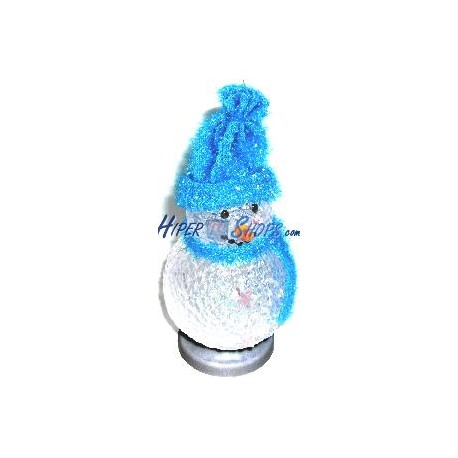Muñeco de Nieve USB (LED 7 Colores)