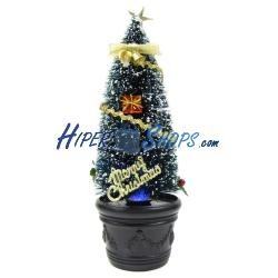 Arbol de Navidad por USB de 30 cm de altura