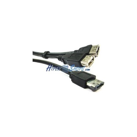 Cable eSATAp o eSATA+USB (M/USB-AH+eSATA-H) 1m