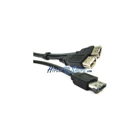 Cable eSATAp o eSATA+USB (M/USB-AH+eSATA-H) 2m