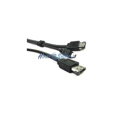 Cable eSATAp o eSATA+USB (M/MiniUSB5pin-BM+eSATA-M) 1m