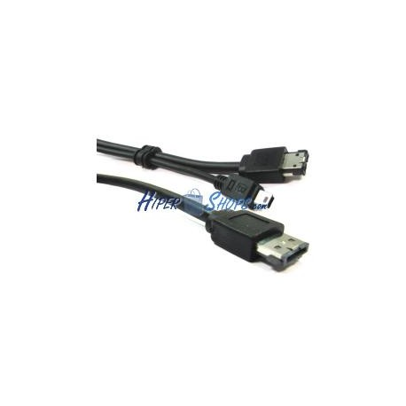 Cable eSATAp o eSATA+USB (M/MiniUSB5pin-BM+eSATA-M) 2m