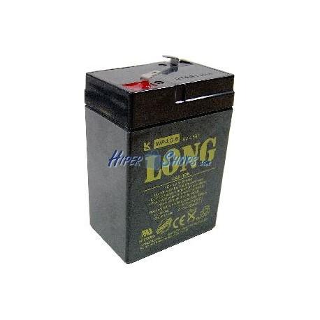 Batería sellada de plomo-ácido de 6V 4Ah recambio SAI