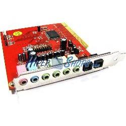 Tarjeta Sonido Envolvente 7.1 PCI con SPDIF
