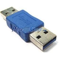 Adaptador USB 3.0 (A Macho a A Macho)