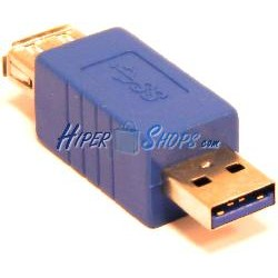 Adaptador USB 3.0 (A Macho a A Hembra)