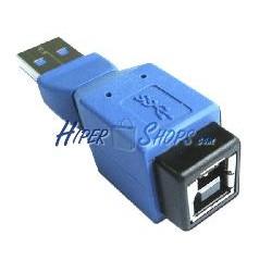 Adaptador USB 3.0 (A Macho a B Hembra)