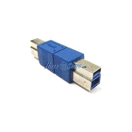 Adaptador USB 3.0 (B Macho a B Macho)