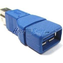 Adaptador USB 3.0 (A Hembra a B Macho)