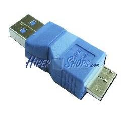 Adaptador USB 3.0 (A Macho a MicroUSB B Macho)