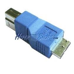 Adaptador USB 3.0 (B Macho a MicroUSB B Macho)