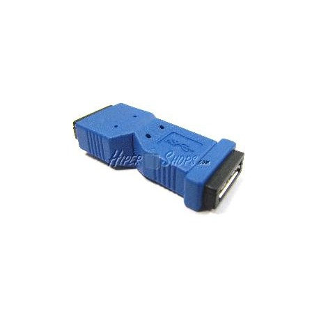 Adaptador USB 3.0 (MicroUSB AB Hembra a MicroUSB AB Hembra)